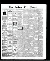Acton Free Press (Acton, ON)13 Mar 1913