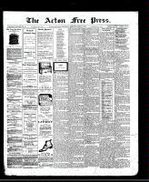 Acton Free Press (Acton, ON)3 Apr 1913