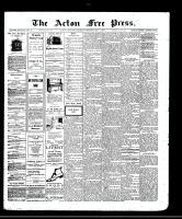 Acton Free Press (Acton, ON)1 May 1913
