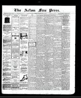 Acton Free Press (Acton, ON)8 May 1913