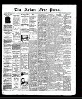 Acton Free Press (Acton, ON)14 Aug 1913