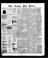 Acton Free Press (Acton, ON)2 Oct 1913
