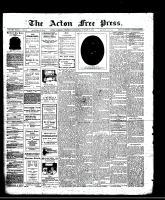 Acton Free Press (Acton, ON)9 Oct 1913