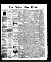 Acton Free Press (Acton, ON)16 Oct 1913