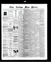 Acton Free Press (Acton, ON)13 Nov 1913