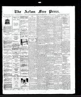 Acton Free Press (Acton, ON)20 Nov 1913