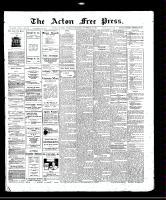 Acton Free Press (Acton, ON)27 Nov 1913