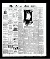Acton Free Press (Acton, ON)11 Dec 1913