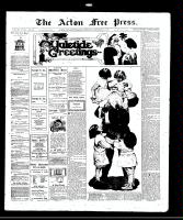Acton Free Press (Acton, ON)25 Dec 1913