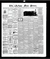Acton Free Press (Acton, ON)1 Jan 1914