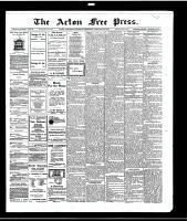 Acton Free Press (Acton, ON)29 Jan 1914