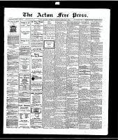 Acton Free Press (Acton, ON)5 Feb 1914