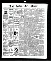 Acton Free Press (Acton, ON)26 Feb 1914