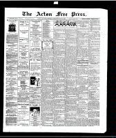 Acton Free Press (Acton, ON)21 May 1914