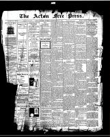 Acton Free Press (Acton, ON)9 Jul 1914