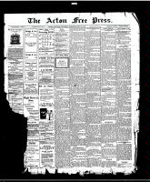 Acton Free Press (Acton, ON)23 Jul 1914