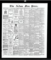 Acton Free Press (Acton, ON)11 Mar 1915
