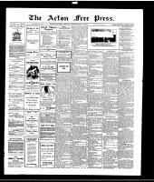 Acton Free Press (Acton, ON)13 May 1915