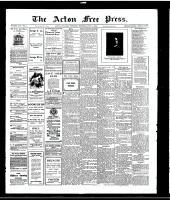 Acton Free Press (Acton, ON)1 Jul 1915