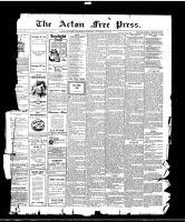 Acton Free Press (Acton, ON)9 Sep 1915