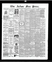 Acton Free Press (Acton, ON)28 Oct 1915
