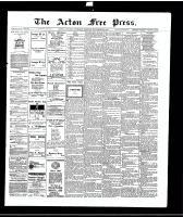 Acton Free Press (Acton, ON)18 Nov 1915