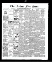 Acton Free Press (Acton, ON), January 27, 1916