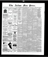 Acton Free Press (Acton, ON)21 Sep 1916