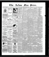 Acton Free Press (Acton, ON), October 26, 1916