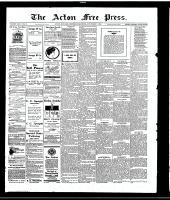 Acton Free Press (Acton, ON), November 2, 1916