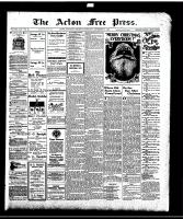 Acton Free Press (Acton, ON), December 21, 1916