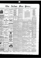 Acton Free Press (Acton, ON)18 Jan 1917