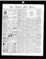 Acton Free Press (Acton, ON)1 Mar 1917