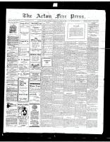 Acton Free Press (Acton, ON)22 Mar 1917