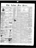 Acton Free Press (Acton, ON)26 Apr 1917