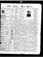 Acton Free Press (Acton, ON)31 May 1917