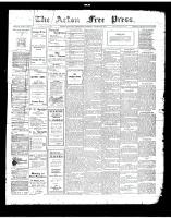 Acton Free Press (Acton, ON), August 30, 1917