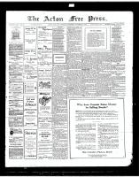 Acton Free Press (Acton, ON), November 1, 1917