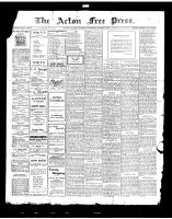 Acton Free Press (Acton, ON)14 Mar 1918