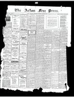 Acton Free Press (Acton, ON)21 Mar 1918