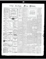 Acton Free Press (Acton, ON)18 Jul 1918