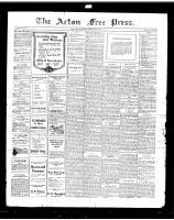 Acton Free Press (Acton, ON)25 Jul 1918