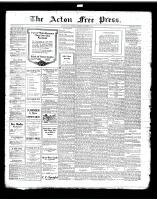 Acton Free Press (Acton, ON)5 Sep 1918