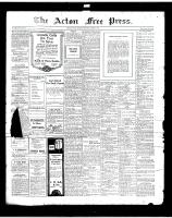 Acton Free Press (Acton, ON), October 3, 1918