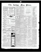 Acton Free Press (Acton, ON)10 Oct 1918