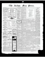 Acton Free Press (Acton, ON)24 Oct 1918