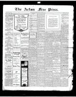 Acton Free Press (Acton, ON)21 Nov 1918