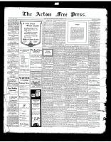 Acton Free Press (Acton, ON)28 Nov 1918