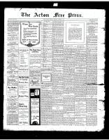 Acton Free Press (Acton, ON), December 5, 1918