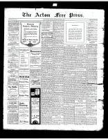 Acton Free Press (Acton, ON)12 Dec 1918